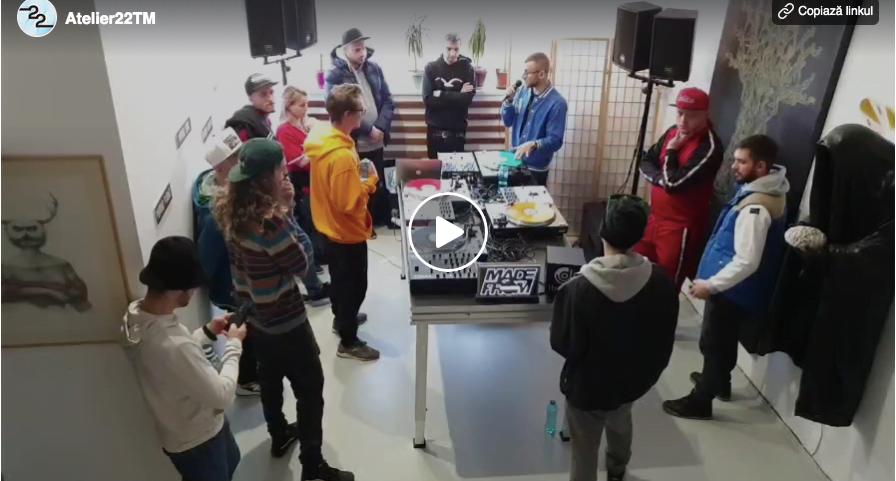 Scratch Workshop w DJ Undoo @ Atelier22TM/ International Scratch Camp – Timisoara 2020