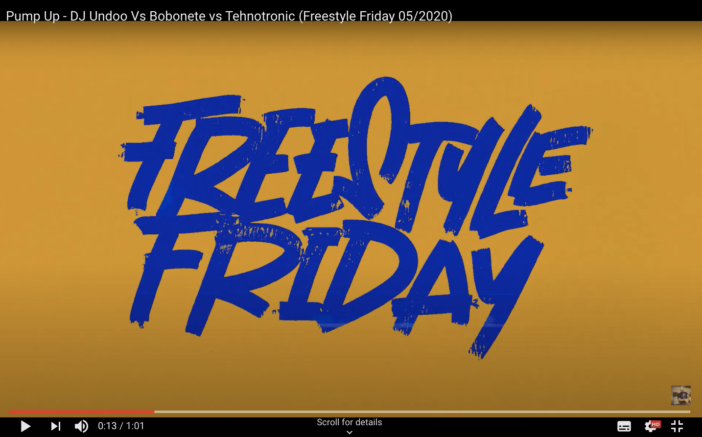 Pump Up - DJ Undoo Vs Bobonete vs Tehnotronic (Freestyle Friday 05/2020)