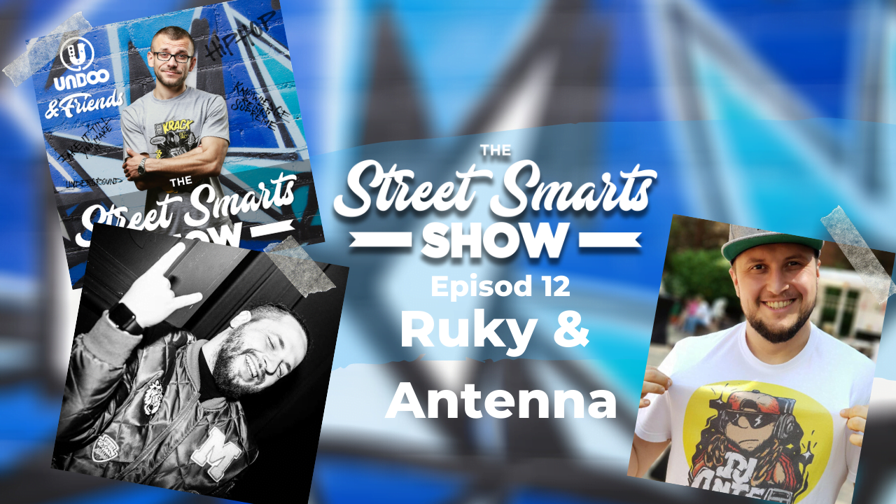 Ruky & Antenna - DJ IN CARANTINA Part 2 | DJ Undoo & Friends -The Street Smarts Show (episod 12, video))